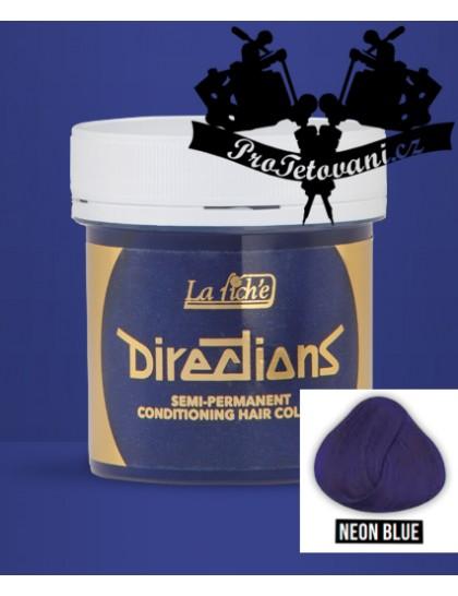 La Riche Directions Neon Blue barva na vlasy