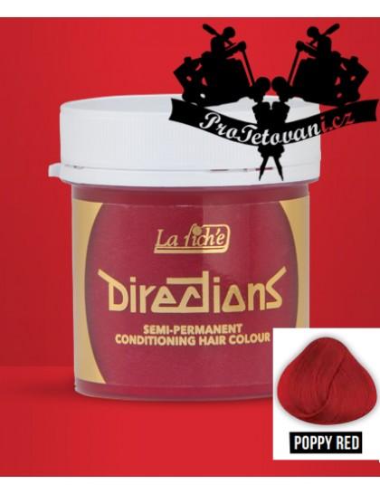 La Riche Directions Poppy Red barva na vlasy