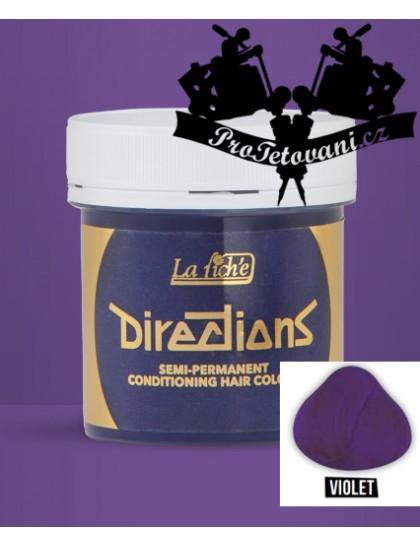 La Riche Directions Violet barva na vlasy