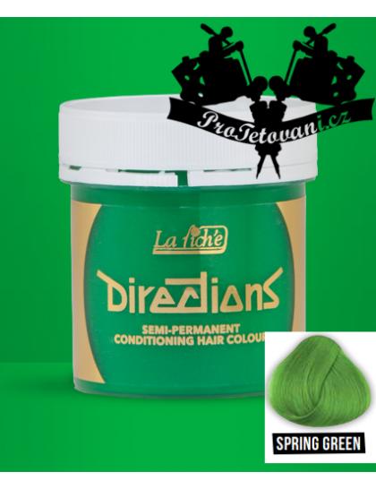 La Riche Directions Spring Green barva na vlasy