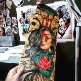 Neo Tradiční tetování Neo Traditional