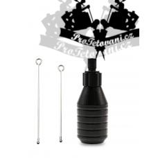 Tattoo CARTRIDGE grip Supreme EXTRA 30 mm Black cartridge and rods