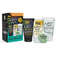 Complete set of products after tattoo Tattoo Goo