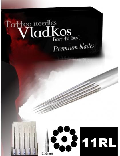 Profesionální tetovací jehla Vladkos 11RL