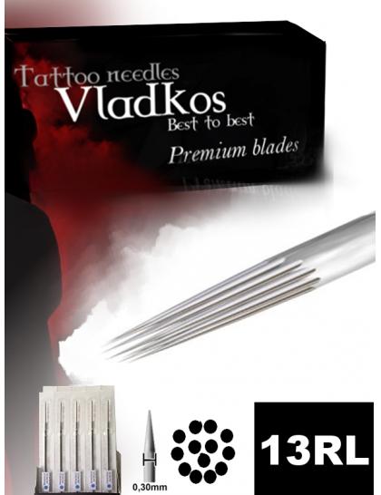 Profesionální tetovací jehla Vladkos 13RL