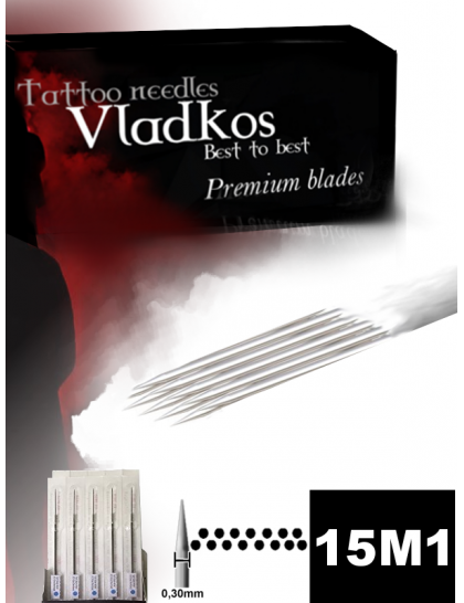 Profesionální tetovací jehla Vladkos 15M1