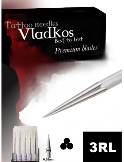 Profesionální tetovací jehla Vladkos 3RL