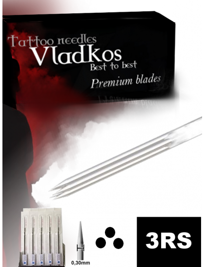 Profesionální tetovací jehla Vladkos 3RS