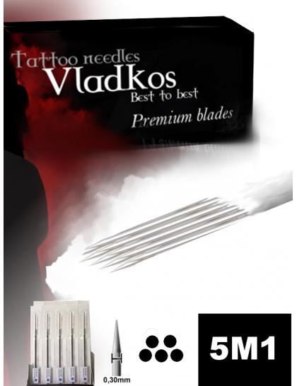 Profesionální tetovací jehla Vladkos 5M1