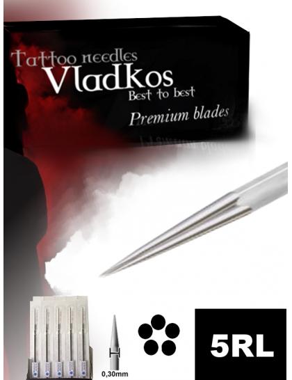 Profesionální tetovací jehla Vladkos 5RL