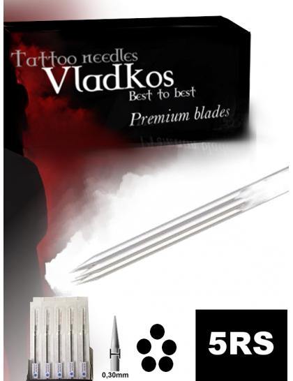Profesionální tetovací jehla Vladkos 5RS