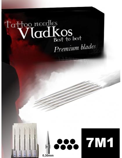 Profesionální tetovací jehla Vladkos 7M1