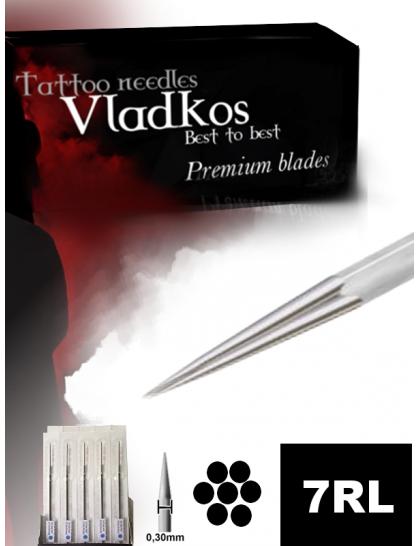 Profesionální tetovací jehla Vladkos 7RL