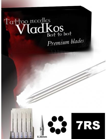 Profesionální tetovací jehla Vladkos 7RS