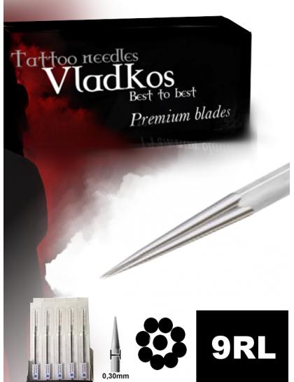 Profesionální tetovací jehla Vladkos 9RL