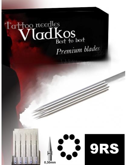 Profesionální tetovací jehla Vladkos 9RS