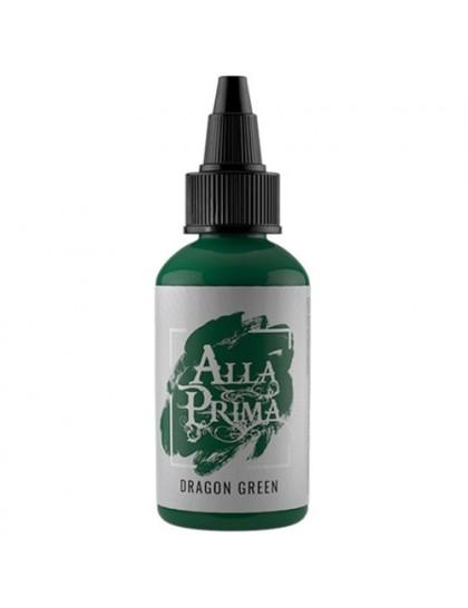 Alla prima ink Dragon green tetovací barva