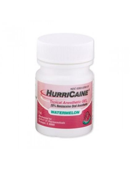 Anestetický gel HURRICAINE Benzocaine vodní meloun