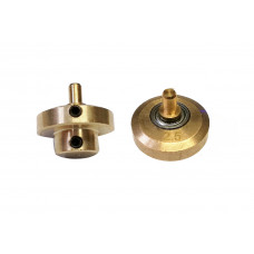Axial bearing-motor axis for rotary machines stroke 2.5 mm