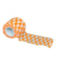Bandage for tattoo grip Squared Orange