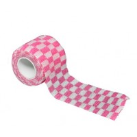 Bandage for tattoo grip Squared Pink