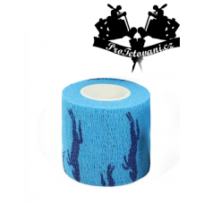 Bandage for tattoo grip Horse Blue