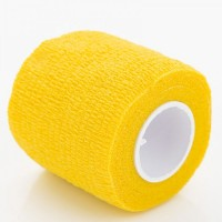 Bandage for tattoo grip Yellow
