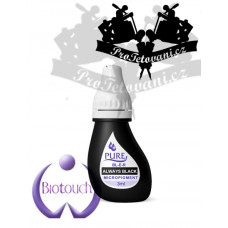 Permanent make-up ink BioTouch Always Black 3 ml