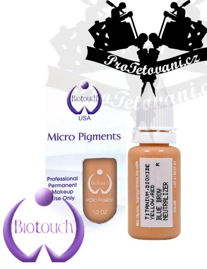 Barva pro permanentní make up Blue Brow Neutralizer 15 ml