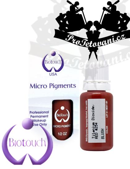Barva pro permanentní make up BioTouch Blush 15 ml