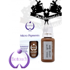 Permanent makeup ink BioTouch Coffee Bean 15 ml