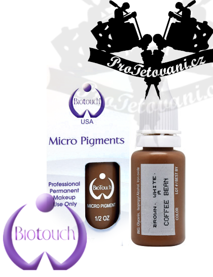 Barva pro permanentní make up BioTouch Coffee Bean 15 ml