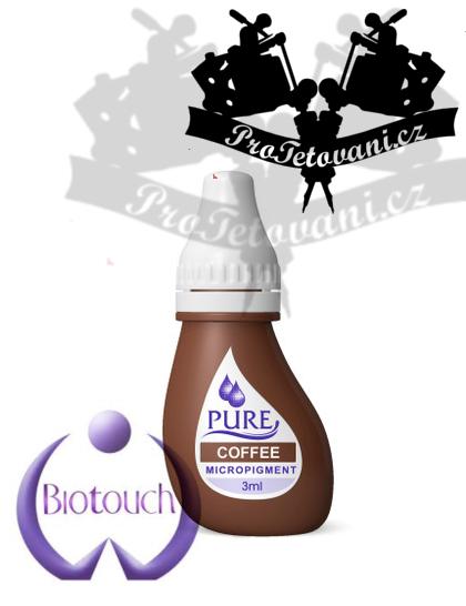 Barva pro permanentní make up BioTouch Coffee 3 ml