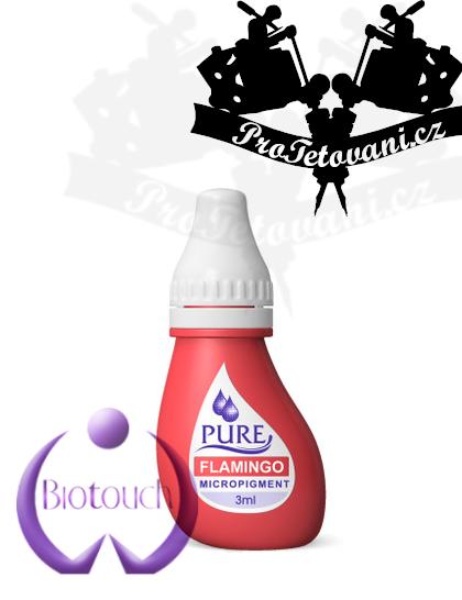 Barva pro permanentní make up BioTouch Flamingo 3 ml