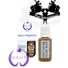 Permanent makeup ink BioTouch Golden Brown 15 ml