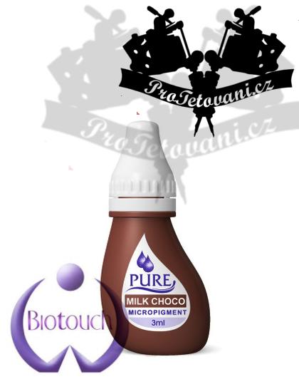 Barva pro permanentní make up BioTouch Milk Choco 3 ml