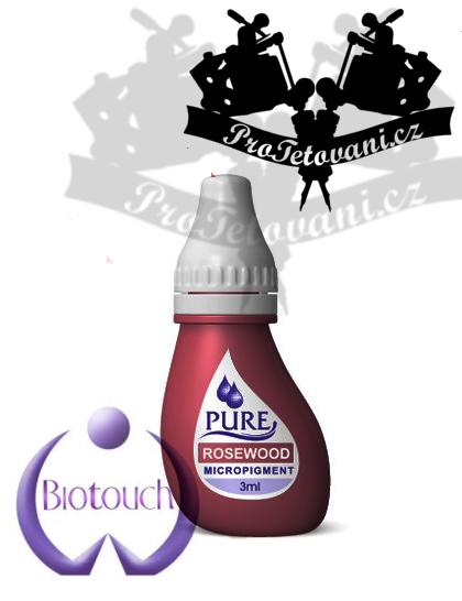 Barva pro permanentní make up BioTouch Rosewood 3 ml