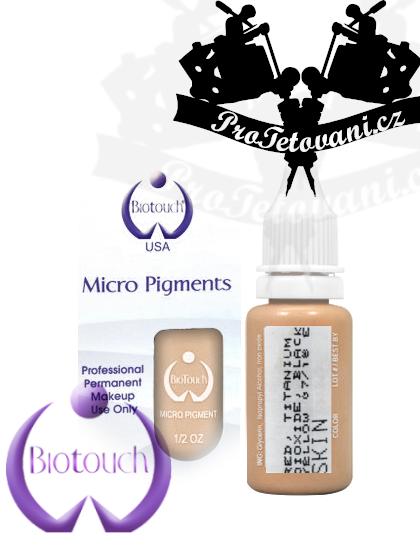 Barva pro permanentní make up BioTouch Skin 15 ml