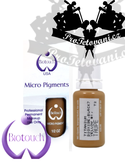 Barva pro permanentní make up BioTouch Taupe