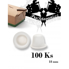 Biodegradable sugar cane cups package of 100 pcs 18 mm