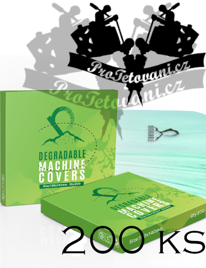 Biologicky rozložitelné obaly na tetovací strojky 200 ks