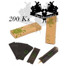 Biologicky rozložitelné ochranné obaly na rotační strojek PEN 200 Ks Grey