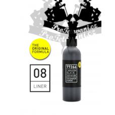Carbon Black LINER 8 lining tattoo ink 100 ml