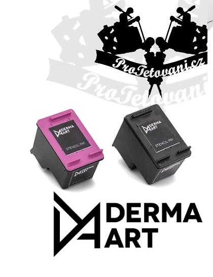 Cartridge pro HP1510 Deskjet Derma art na tisk tetovacích motivů