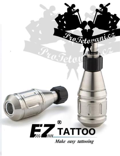 Cartridgový tetovací Grip EZ z nerezové oceli 28 mm