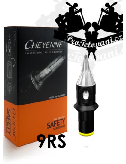 Originální tetovací cartridge Cheyenne Safety 9 RS