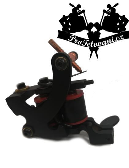 Cívkový tetovací strojek Black Edition First Shader