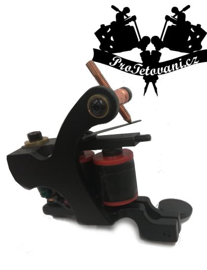 Cívkový tetovací strojek Black Edition Second Shader
