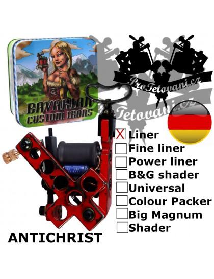 Profesionální cívkový strojek Bavarian Custom Irons Antichrist Liner