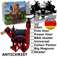 Professional coil machine Bavarian Custom Irons Antichrist Shader